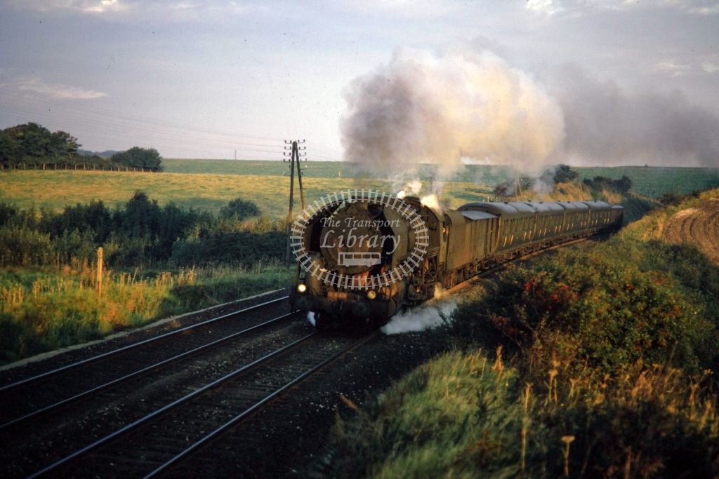 SNCF French Railways Steam Locomotive 141R 428  at Caffiers  in 1970 - Sep - Barry Mounsey