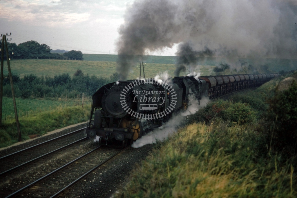 SNCF French Railways Steam Locomotive Class 141R  at Caffiers  in 1970 - Sep - Barry Mounsey