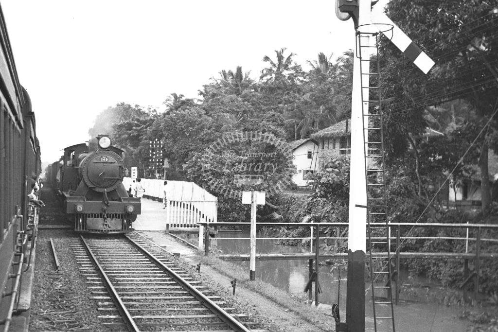 Foreign locomotive No.249. No details - H Cartwright - CW10234