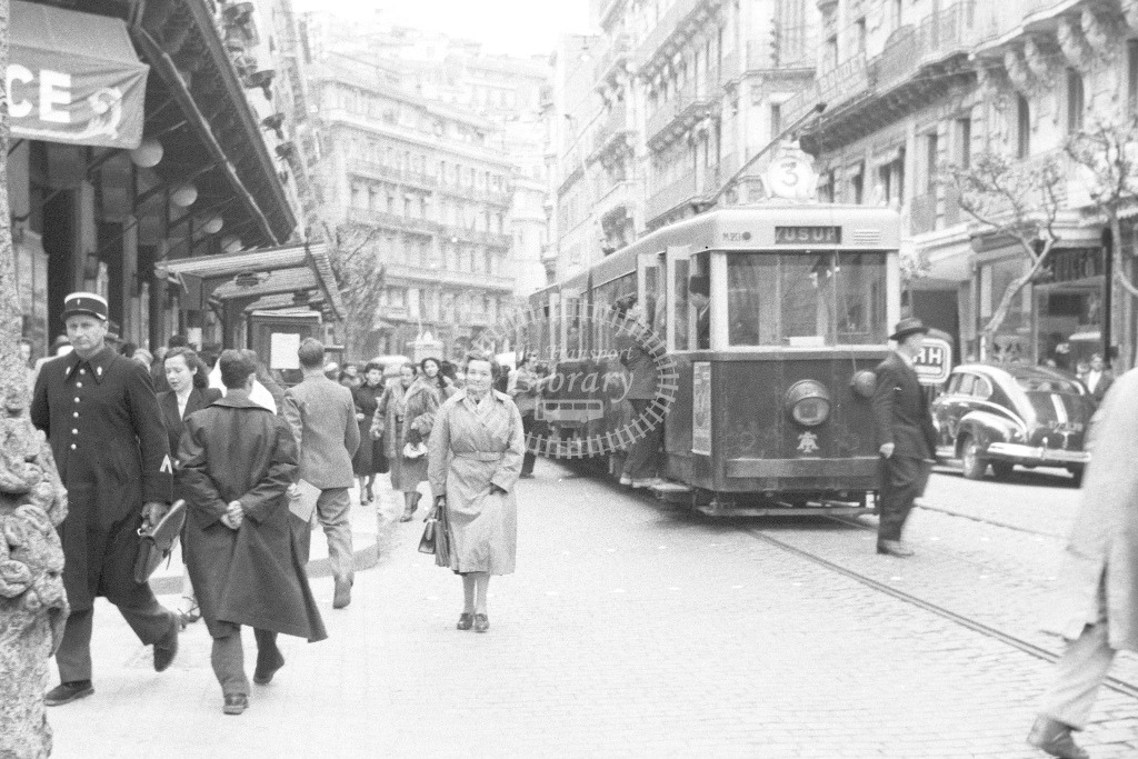 Tram. No details, no location - H Cartwright - CW10239