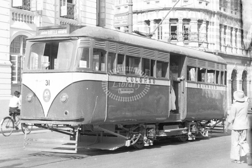 Colombo Tramways No.31 - H Cartwright - CW10246