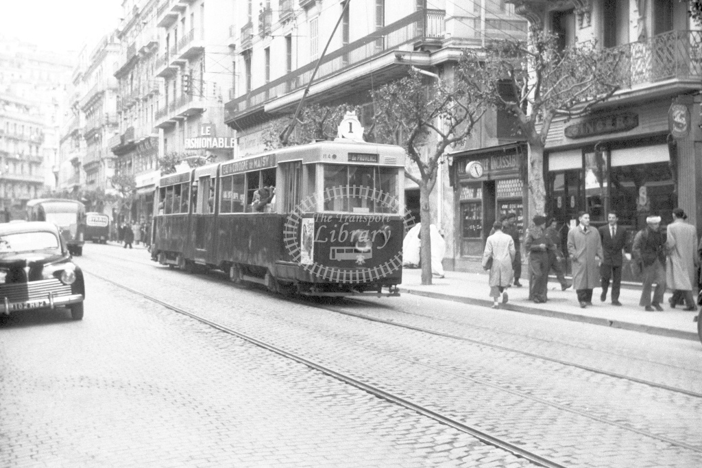 Algiers trams - H Cartwright - CW10248