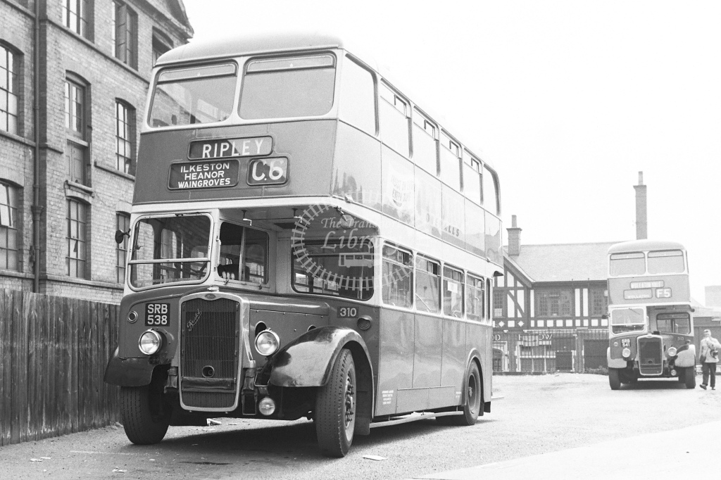 Notts and Derby bus fleet No.310 - H Cartwright - CW10763