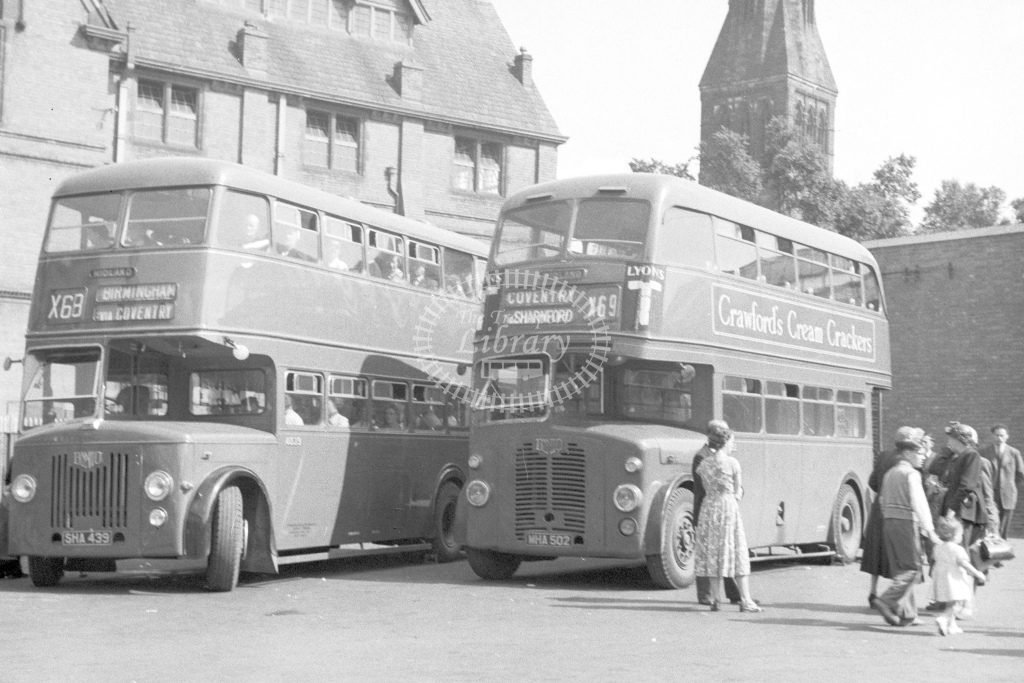 BMMO D7 double deck buses Nos.4039 3502 - H Cartwright - CW10906