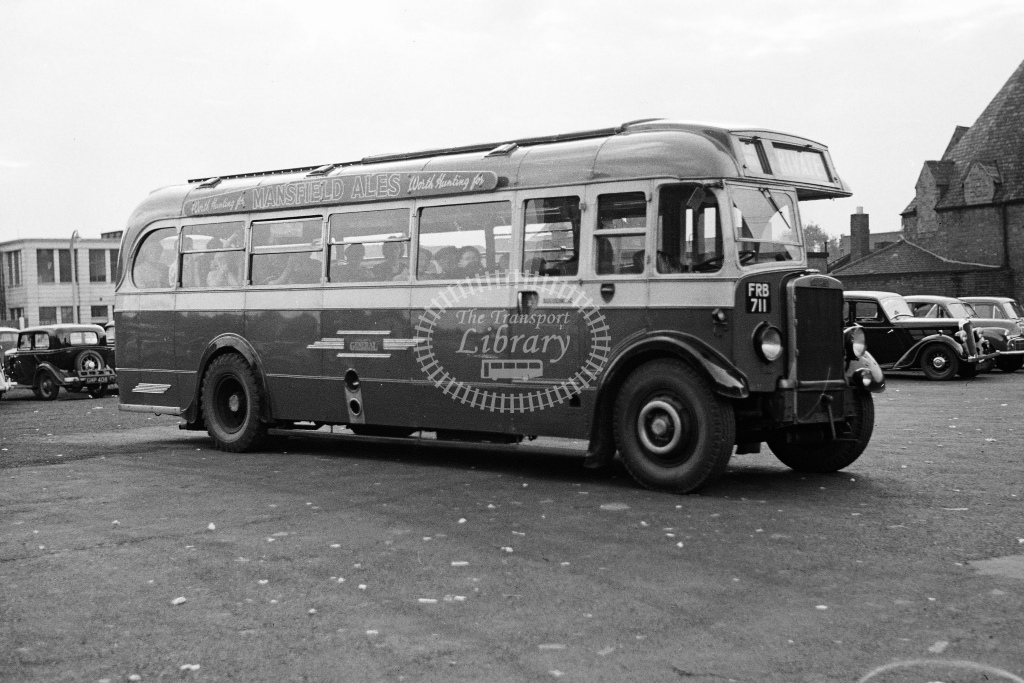 Midland General bus No.142 at Leicester St Margarets Bus Station - H Cartwright - CW11386