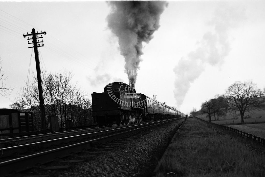 Ex MR 0-10-0 No.58100 Lickey Banker banking up Lickey Incline - H Cartwright - CW11530