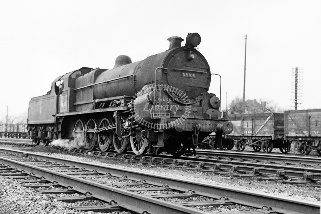 Ex MR 0-10-0 No.58100 Lickey Banker at Blackwell - H Cartwright - CW11535