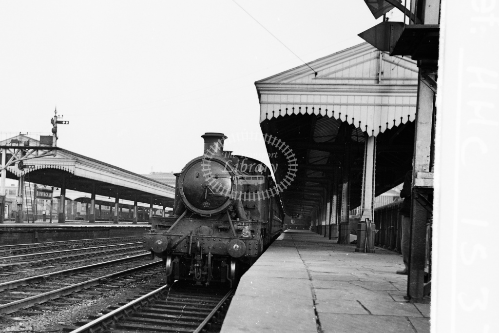 Ex GWR 2-6-2T Prairie tank No.8108 at Birmingham Snow Hill - H Cartwright - CW11537