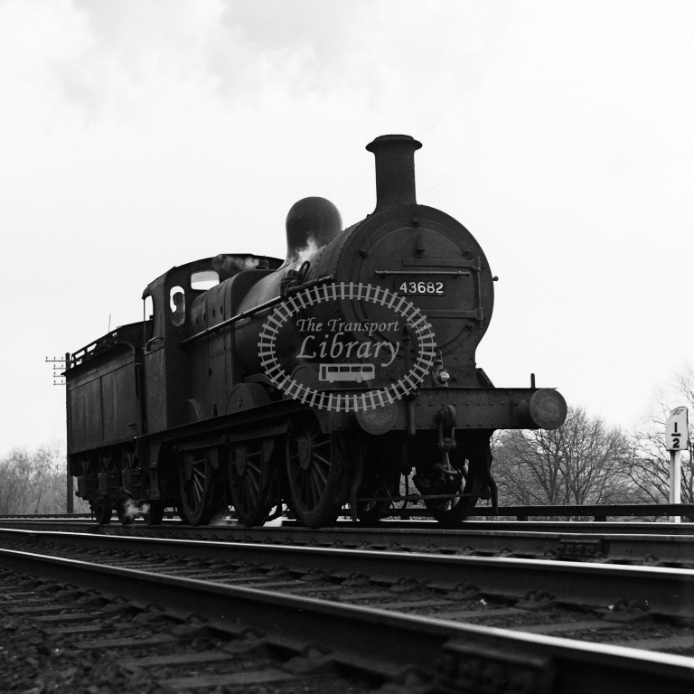 BR ex MR 3F 0-6-0 No.43682 on Lickey Incline - H Cartwright - CW11544