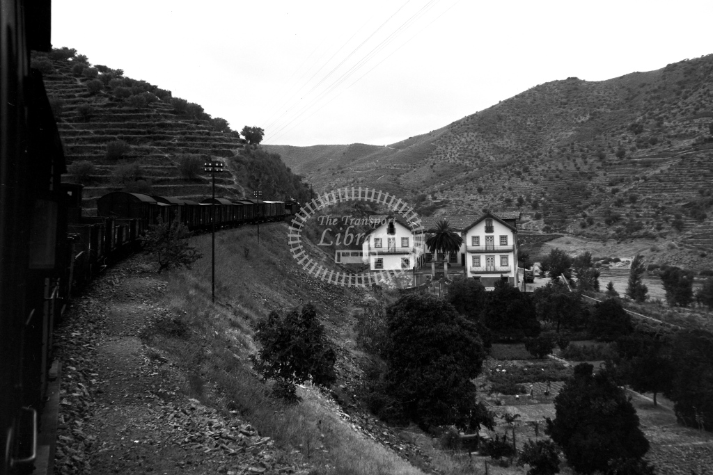 CP Portugal Railways Steam Locomotive 281  at Douro Valley  in 1972 - 09/09/1972 - David Anderson