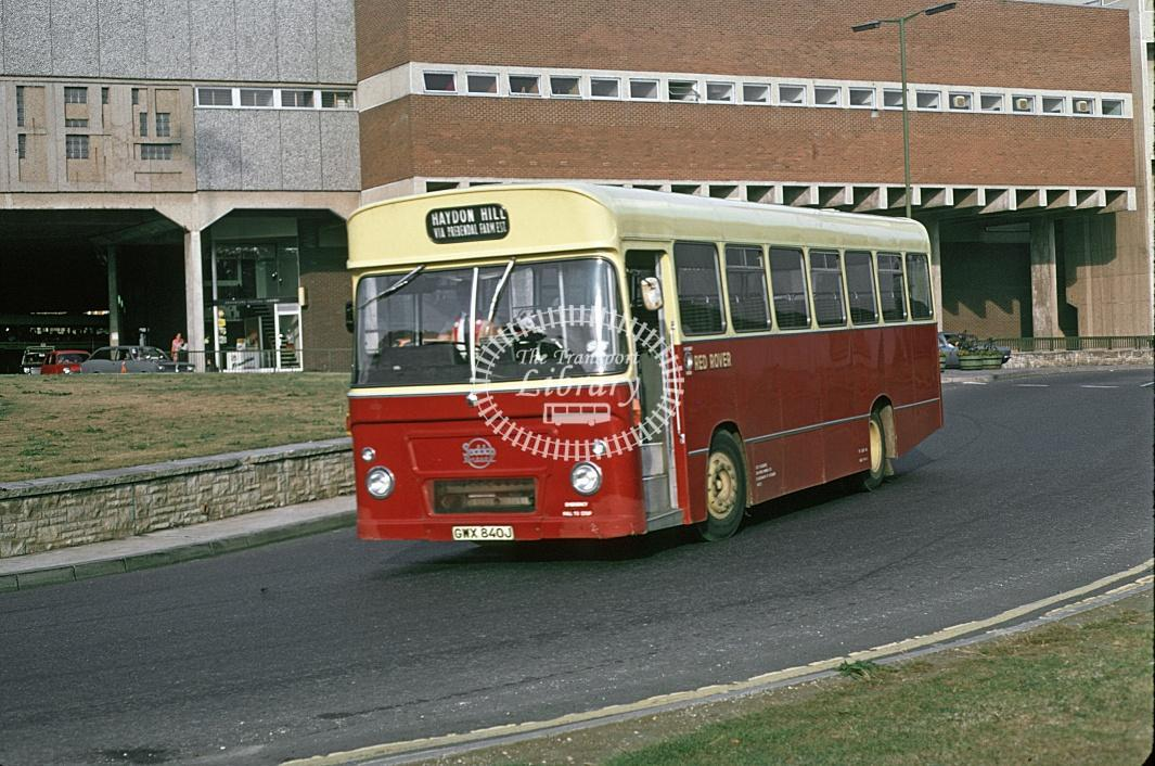 Red Rover, Aylesbury Seddon GWX840J at Unknown location in 1973 - Jun-73 - Geoffrey Morant