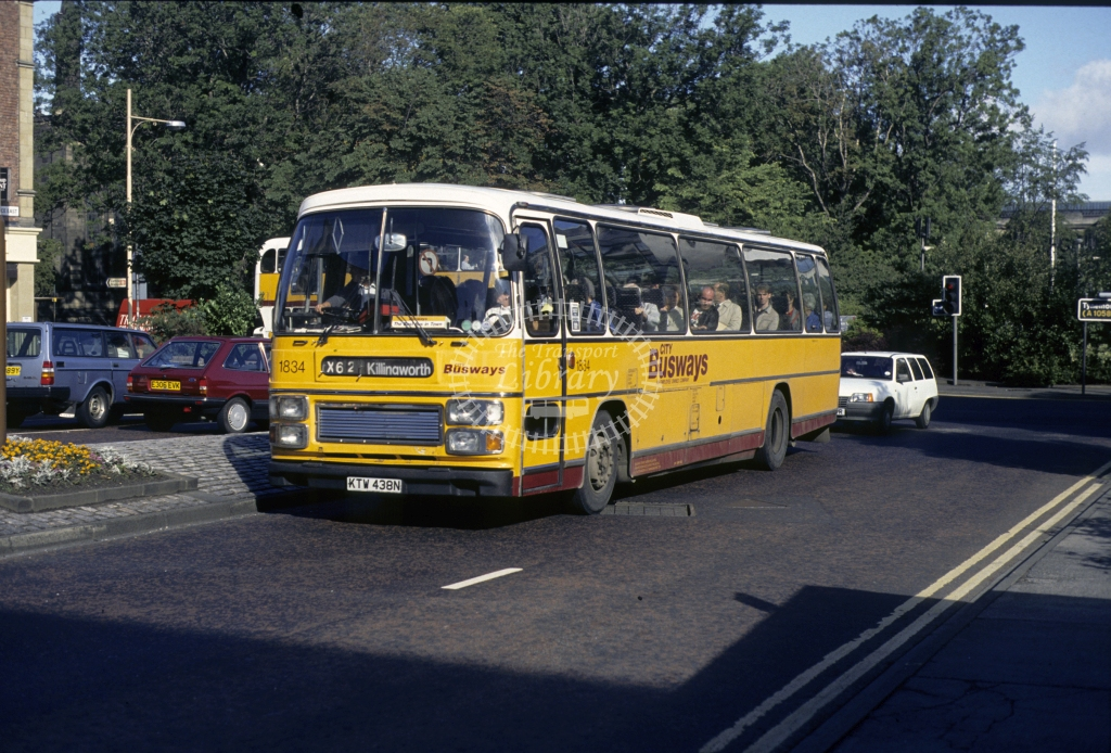 Busways ?? 1833 KTW138N  in 1989 -  Sep-89  - Geoffrey Morant