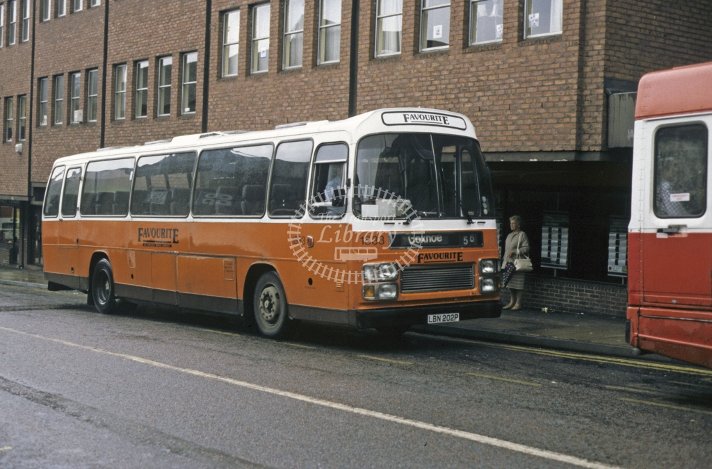 Busways Leyland PSU3 1833 LBN202P  in Undated - Geoffrey Morant