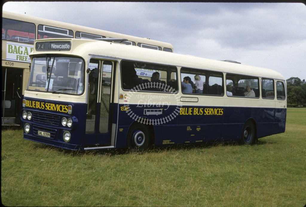 Busways Leyland PSU3 1838 GNL839N  in 1985 -  Oct-85  - Geoffrey Morant