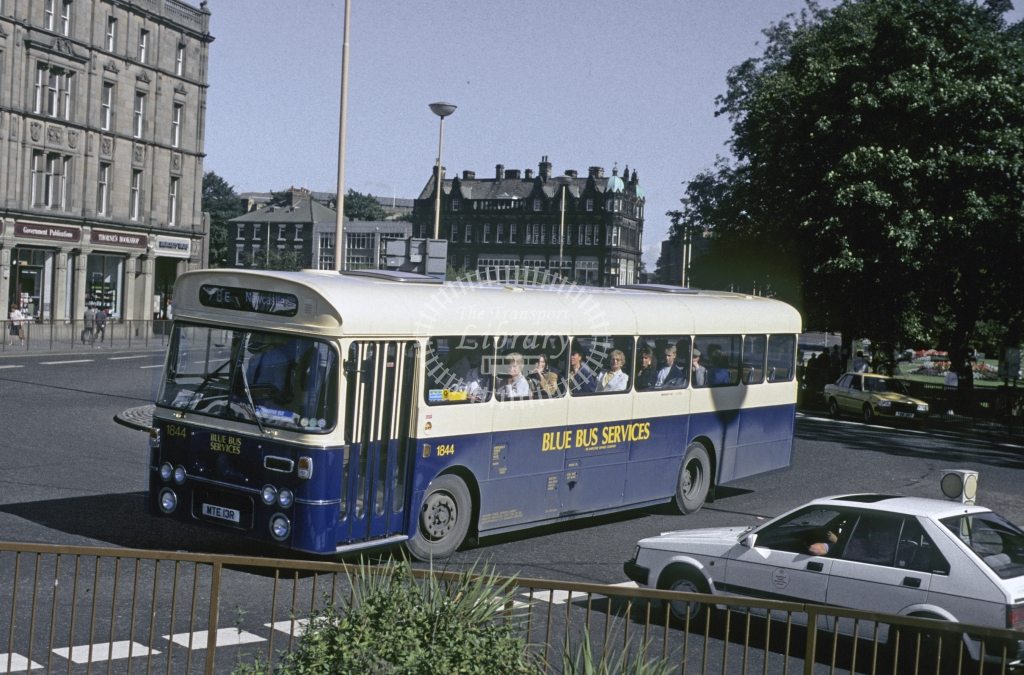 Busways Leyland PSU3 1844 MTE13R  in 1989 -  Sep-89  - Geoffrey Morant