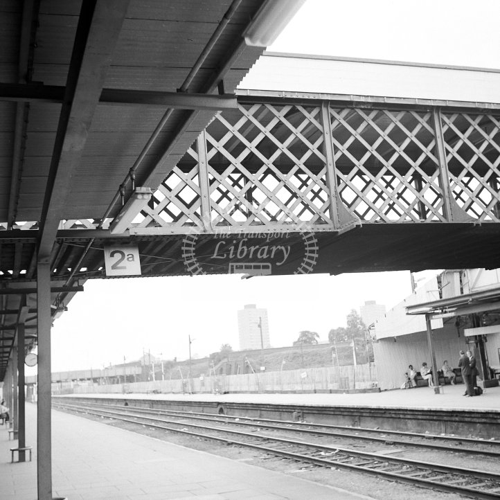 British Rail Station View  at Leicester London Road  in 1978 - Under re-construction -  18/07/1978 - Horace Gamble