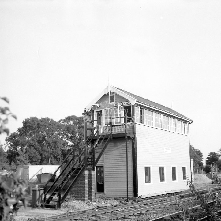 British Rail Signal box view  at Ulceby Junction  in 1995 - GCR SB -  16/08/1995 - Horace Gamble
