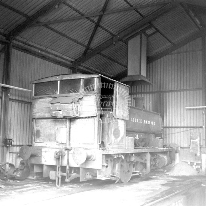 Central Electricity Generating Board Industrial Steam Locomotive  Class Andrew Barclay 0-4-0ST (AB2069/1938)  at Acton Lane Power Station, Willesden  in 1969 - Inside shed -  12/04/1969 - Horace Gamble