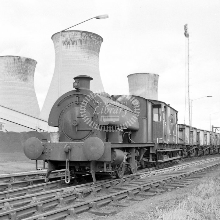 Central Electricity Generating Board Industrial Steam Locomotive  Class Robert Stephenson & Hawthorns 0-4-0ST (RSH7386/1948)  at Acton Lane Power Station, Willesden  in 1969 -  12/04/1969 - Horace Gamble
