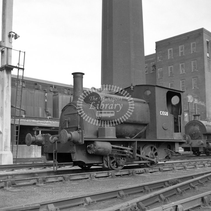 Central Electricity Generating Board Industrial Steam Locomotive  Class Hudswell Clarke 0-4-0ST (HC1672/1937)  at Stuart Street Power Station, Manchester  in 1967 -  26/08/1967 - Horace Gamble