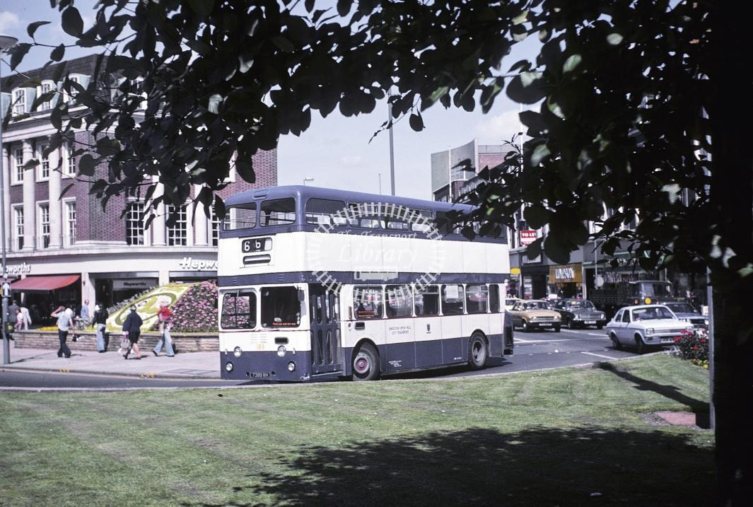 Hull Leyland PDR1/1 189 7389RH at Hull Area in 1978 - Jul-78 - Harry Hay