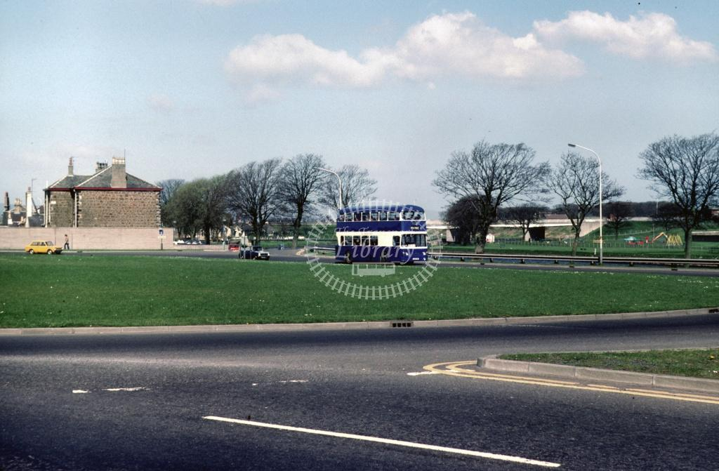 A1 (T Hunter) Leyland PDR1A/1 LXS14K at Irvine Waterside in 1980 - 29312 - Harry Hay