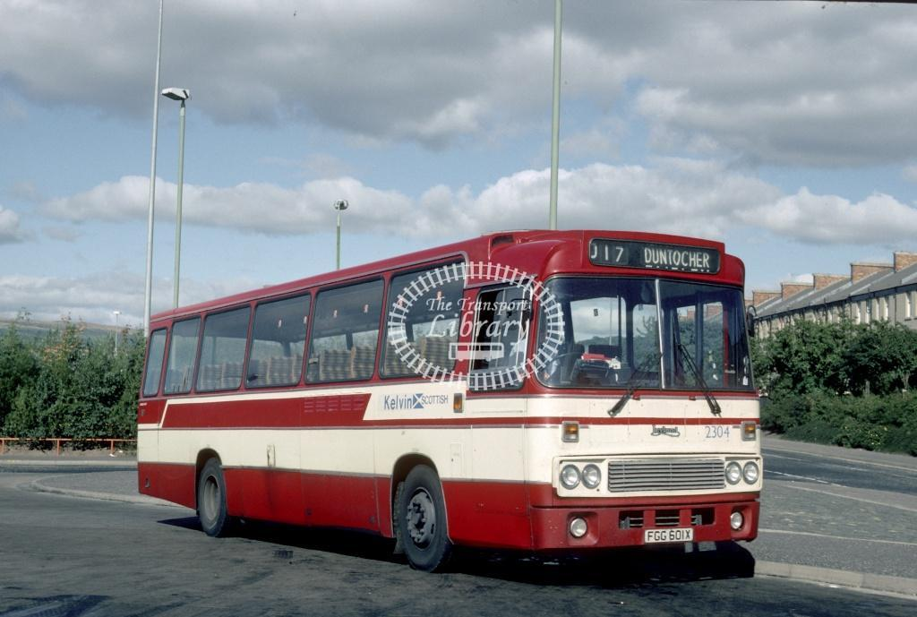 Kelvin Scottish Leyland TRBTL 2304 FGG601X in Undated - Harry Hay