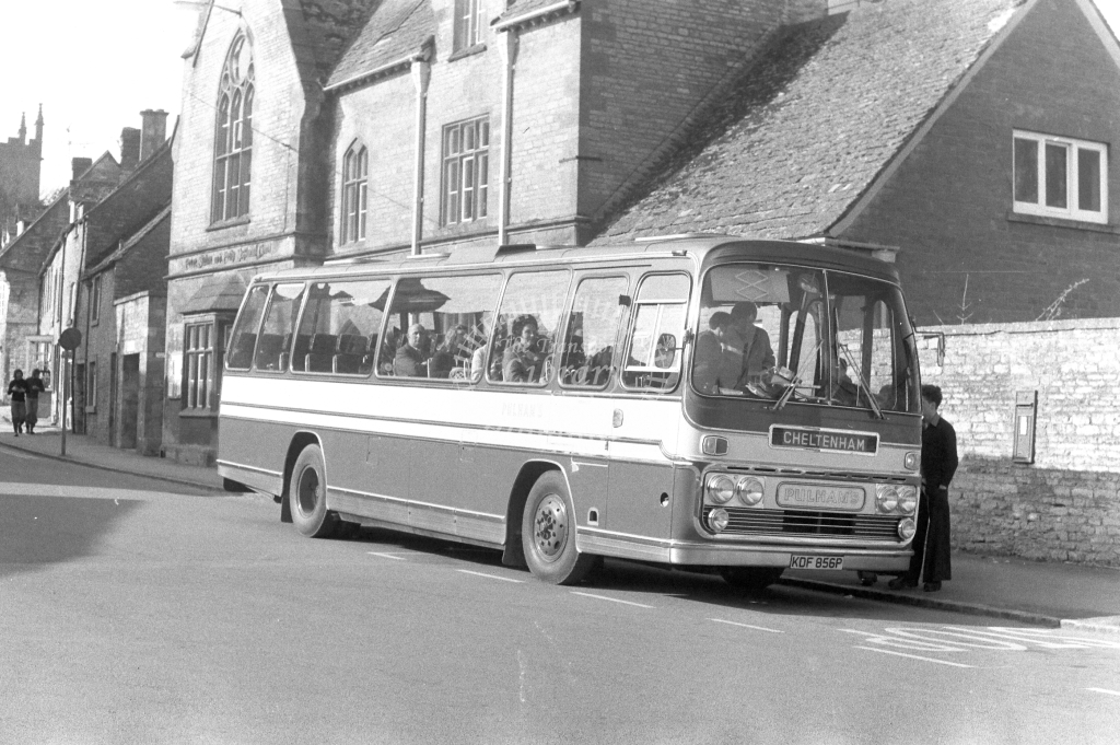 Pulhams Bedford YRQ KDF856P in 1970s - JGS Smith