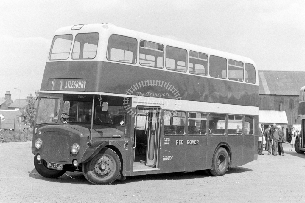 Red Rover AEC Renown 125 DAU372C at Aylesbury in 1977 - JGS Smith