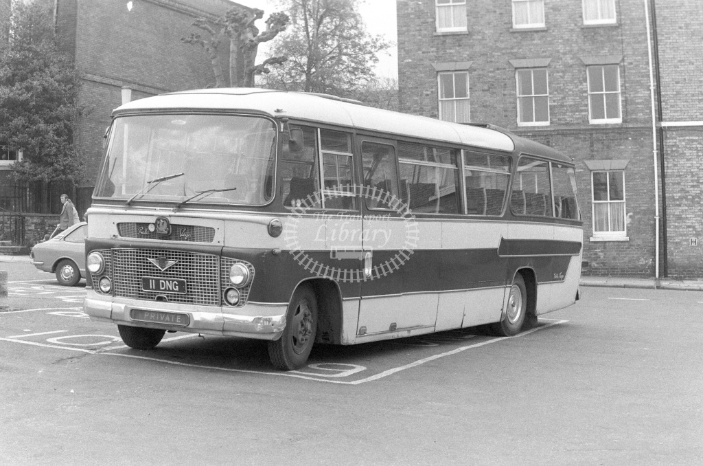 Burwell & District Bedford SB5 11DNG  in 1977 - JGS Smith