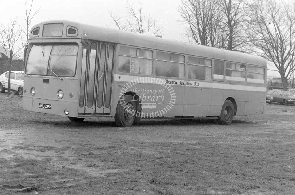 Unknown Operator AEC Merlin MB638 AML638H  in 1979 - JGS Smith