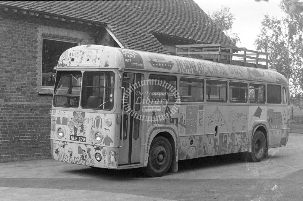 Unknown Operator AEC Regal RF678 NLE678  in 1979 - JGS Smith