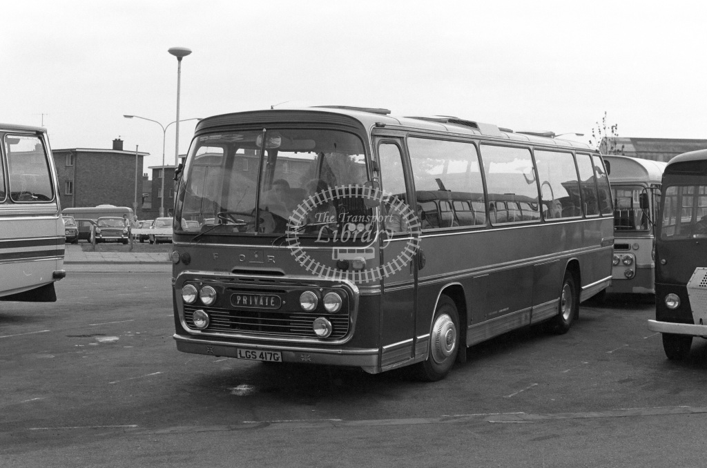 Unknown Operator Ford R192 LGS417G  in 1979 - JGS Smith
