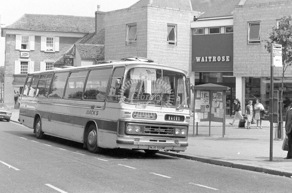Back's Ford R226 NJO500M  in 1979 - JGS Smith