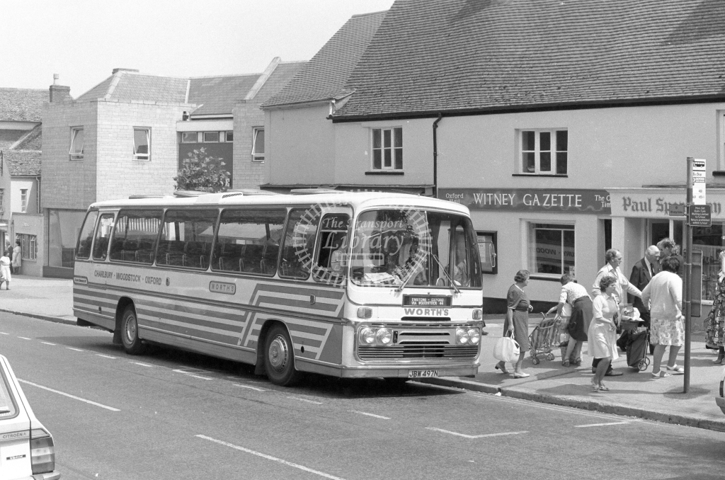 Worth's Ford R11114 JBW497N  in 1979 - JGS Smith