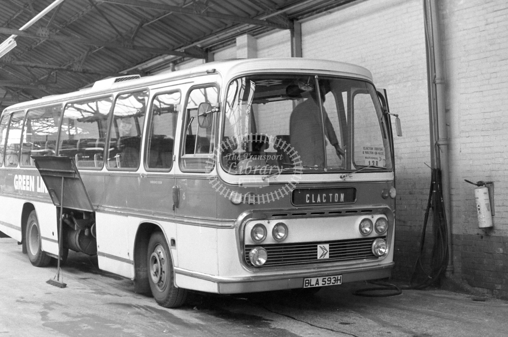 Unknown Operator AEC Reliance 6 BLA593H  in 1979 - JGS Smith
