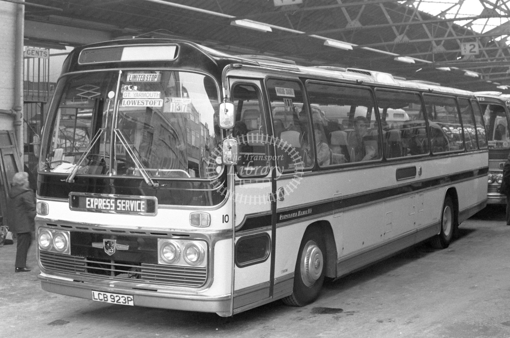 Unknown Operator Leyland Tiger 10 LCB923P  in 1979 - JGS Smith