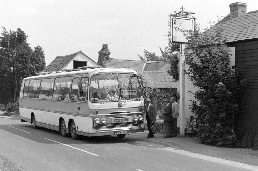 Unknown Operator Bedford VAL AEG565J  in 1979 - JGS Smith
