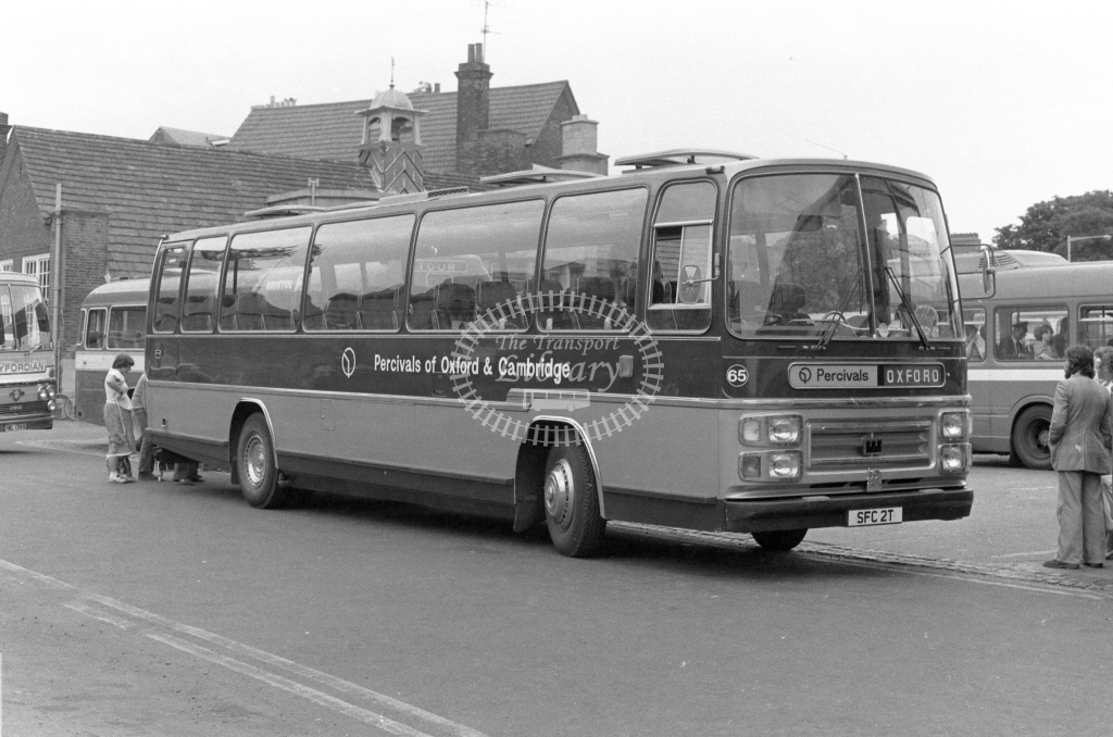 Percivals Bedford YMT SFC2T  in 1979 - JGS Smith