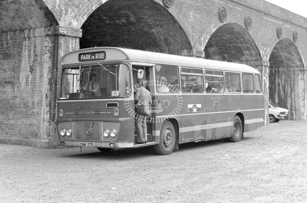 M H Elcock & Son Ford R1014 CNM177L  in 1979 - JGS Smith