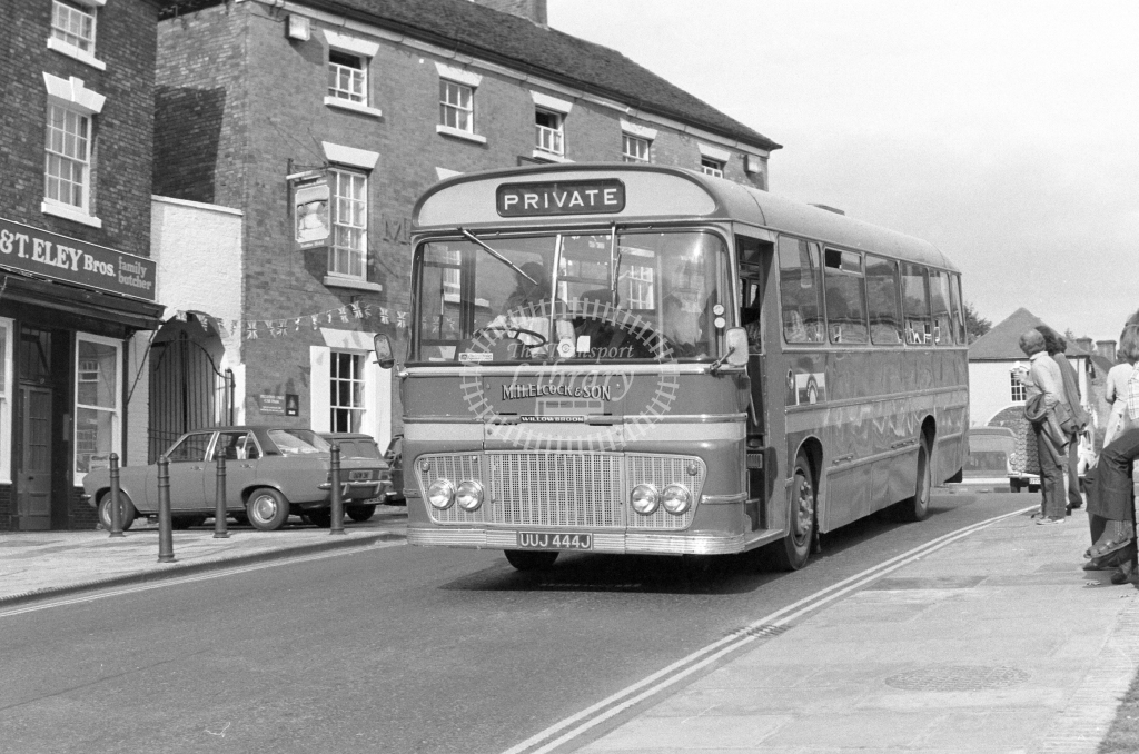 M H Elcock & Son Ford R192 UUJ444J  in 1979 - JGS Smith
