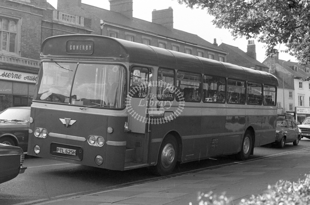 Reliance AEC Reliance PTL625H  in 1979 - JGS Smith