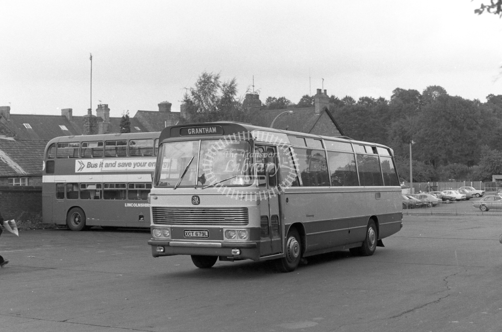 Unknown Operator Bedford YRQ XCT679L  in 1979 - JGS Smith