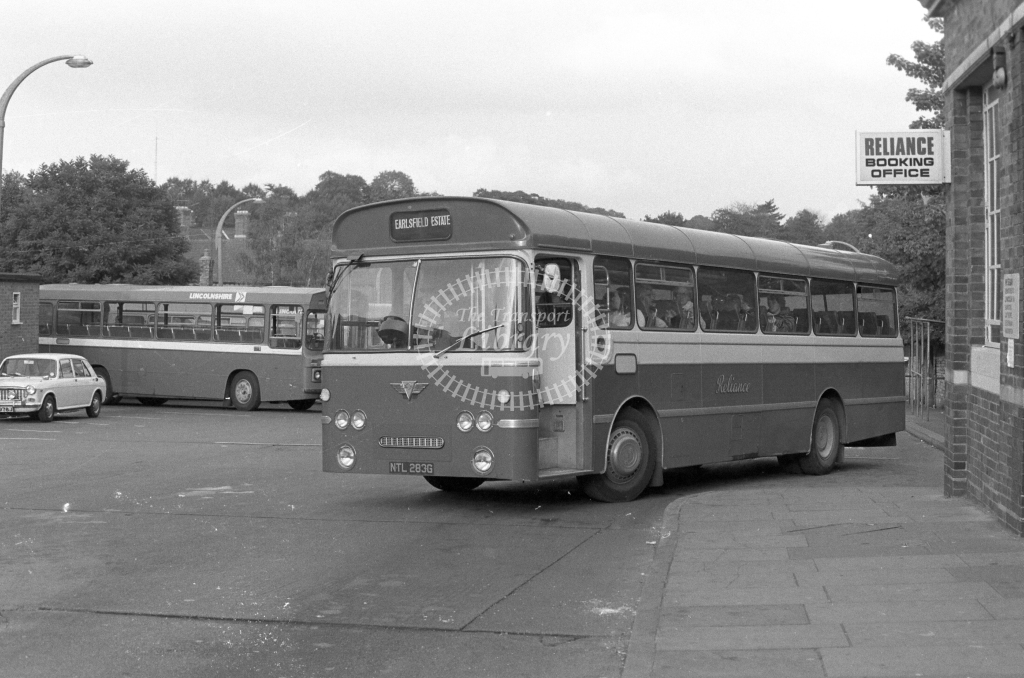 Reliance AEC Reliance NTL283G  in 1979 - JGS Smith