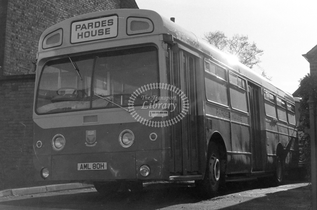 Unknown Operator AEC Swift SMS80 AML80H  in 1979 - JGS Smith