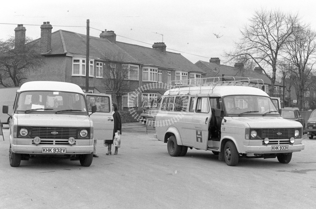 London Borough of Havering Ford Transit KHK932V  in 1979 - JGS Smith