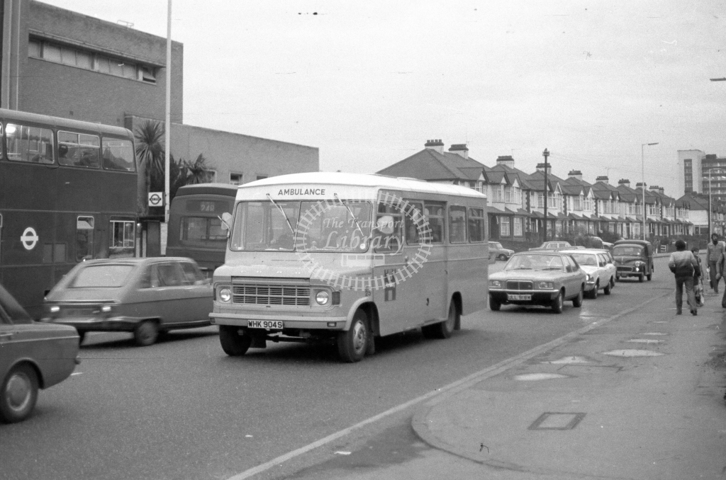 London Borough of Havering Ford  WHK904S  in 1979 - JGS Smith