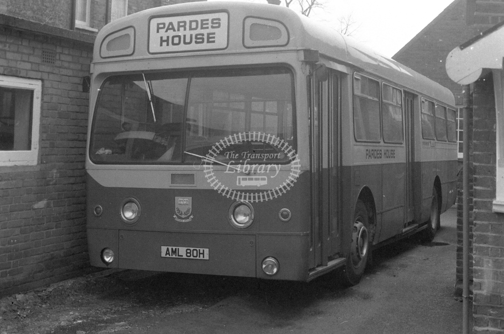 Pardes House AEC Swift SMS80 AML80H  in 1980 - JGS Smith