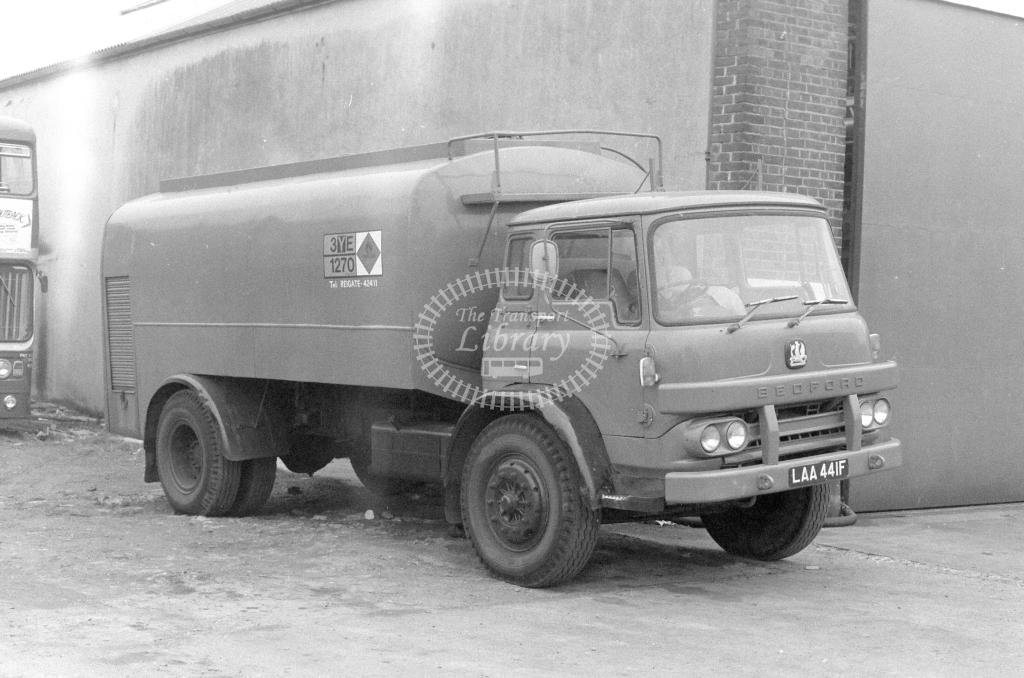 London Country Bedford KM Tanker LAA441F  in 1980 - JGS Smith