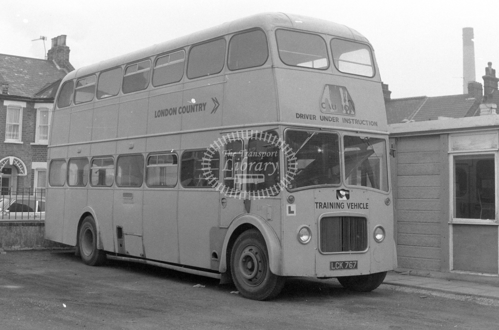 London Country Leyland PD3 LR6 LCK767  in 1980 - JGS Smith